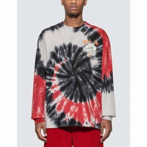 SLEEVE JUST DON DEALERS SPIRAL DYE LONG TSHIRT