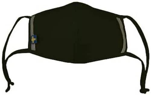 スポーツマスク エアーMリフレクター ブラック