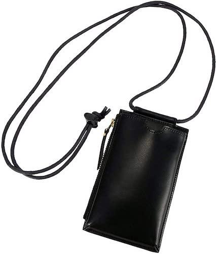 SLOW/herbie neck pouch wallet