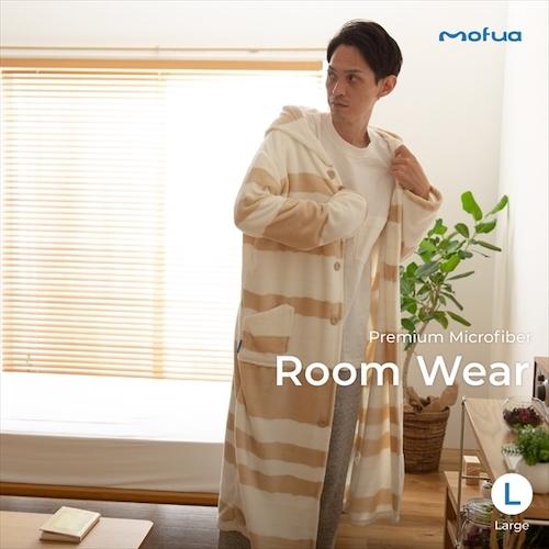 mofua/プレミアムマイクロファイバー着る毛布