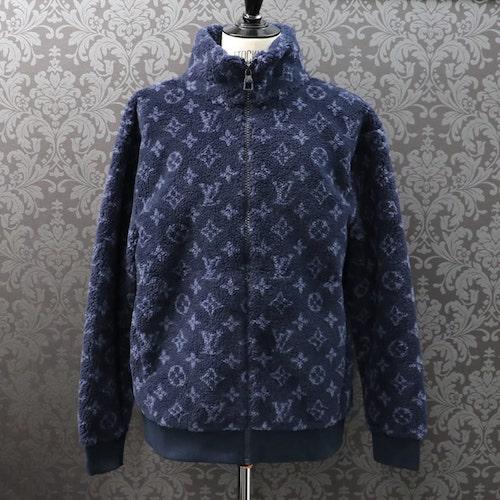 Louis Vuitton/モノグラムジャカードフリースジップスルージャケット