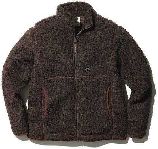ウールフリースジャケット