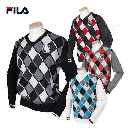 FILA GOLF /Vネックセーター