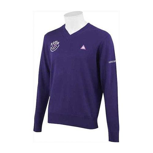 Le coq sportif GOLF/マーキングデザインVネックセーター