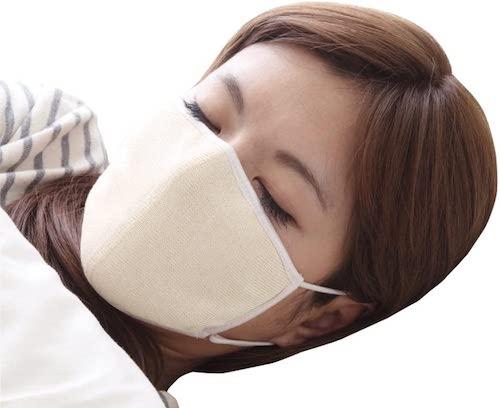 大判/潤いシルクのおやすみマスク