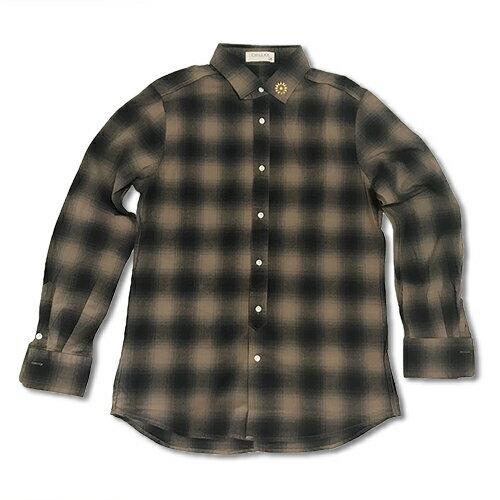 ロンハーマン/Chillax Studs ネルシャツ
