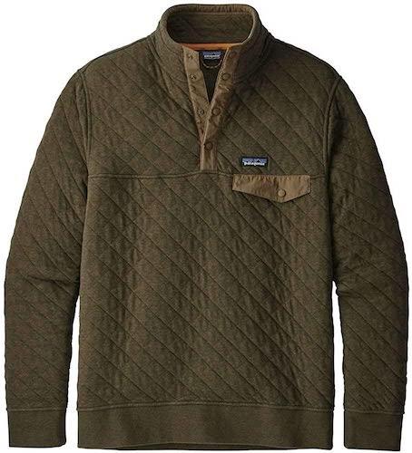 Cotton Quilt Snap-T Pullover Fleece