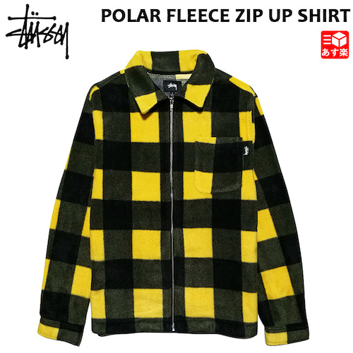 FLEECE ZIP UP SHIRT