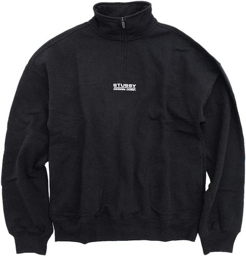 Mock Neck Half Zip