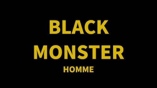 BLACK MONSTER ロゴ