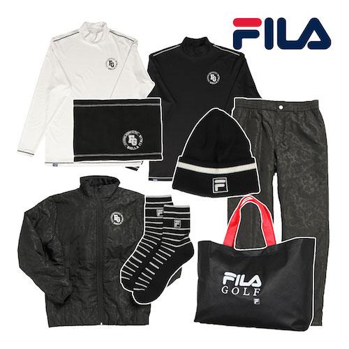 FILA/ 2021新春 「メンズウエア」 豪華8点セットゴルフ福袋