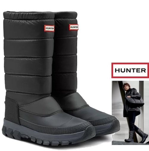 HUNTER/ORIGINAL INSULATED TALL SNOW BOOT