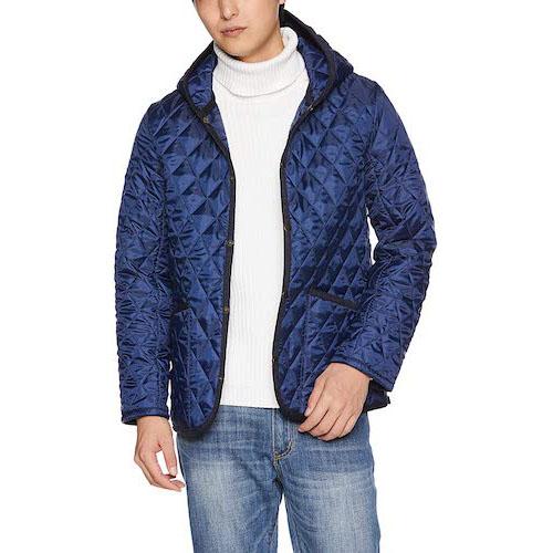 ロンドントラディション/フード付きキルティングジャケット