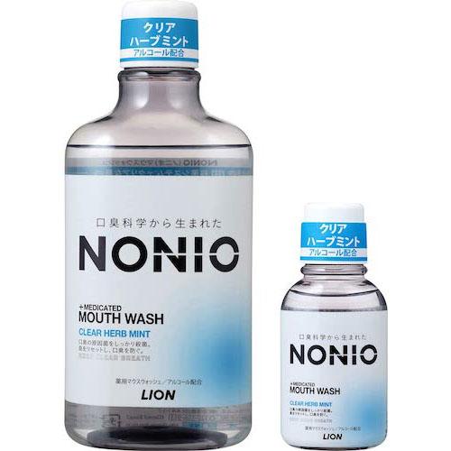 NONIO/マウスウォッシュ クリアハーブミント 洗口液