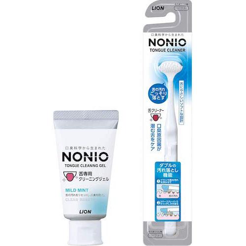 NONIO/舌クリーナー+舌専用クリーニングジェル