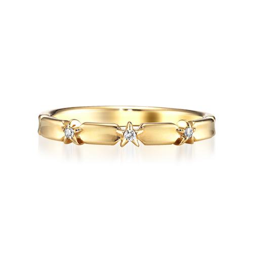 K10 リング*DIAMOND STAR RING