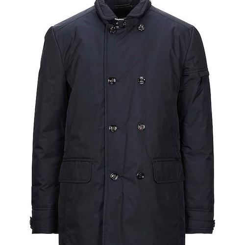 MOORER/Double breasted pea coat