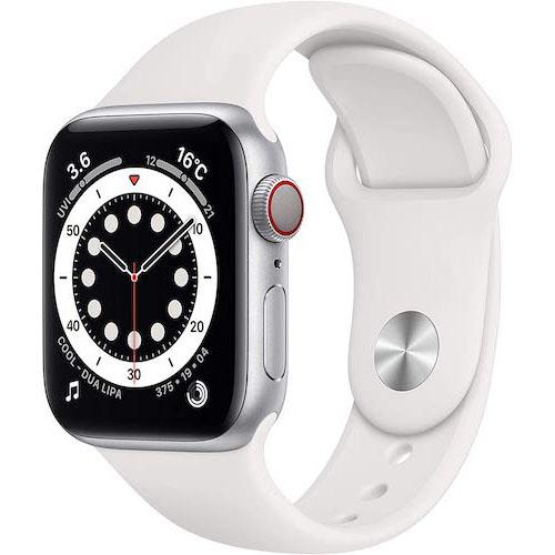 Apple Watch Series 6(GPS + Cellularモデル)/40mmシルバーアルミニウムケース