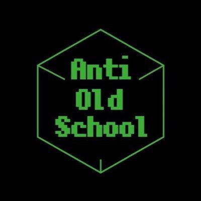 AntiOldSchool ロゴ