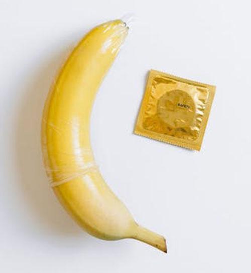 バナナとコンドーム