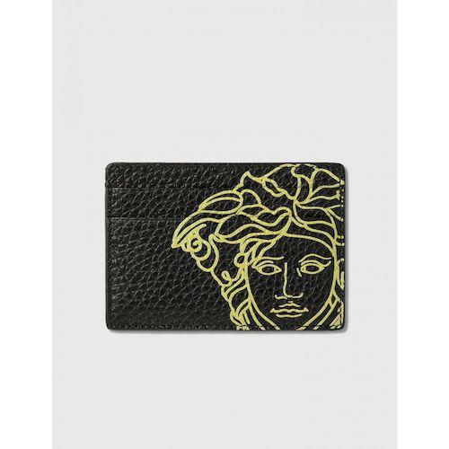 pop medusa leather card case