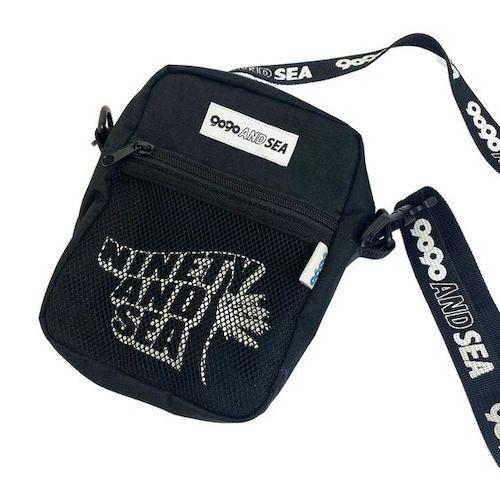 9090 × WIND AND SEA shoulder bag