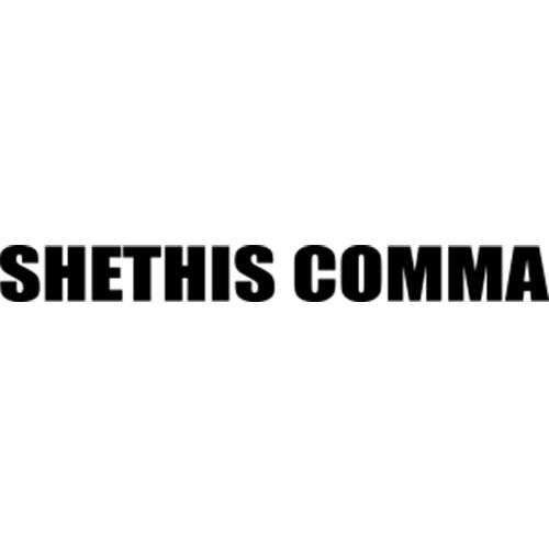 SHETHISCOMMA ロゴ