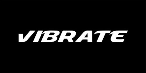 VIBRATE ロゴ