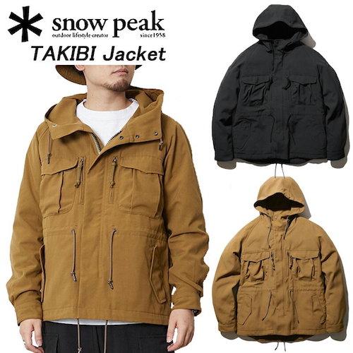 snow peak/TAKIBI Jacket