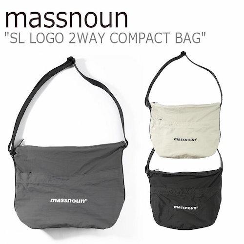 LOGO 2WAY COMPACT BAG
