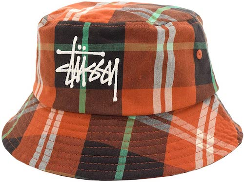 Big Logo Madras Bucket Hat