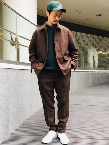 シャツジャケット×イージースラックス