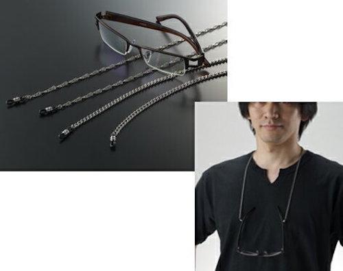 純チタン 眼鏡チェーン/K8810