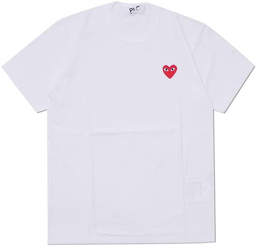 OMME des GARCONS/RED HEART ONE POINT TEE
