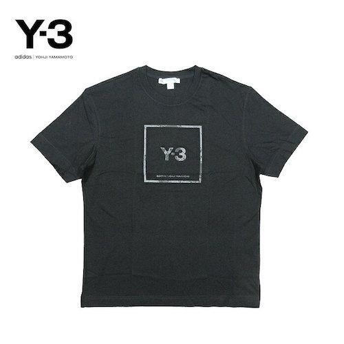 Y-3/スクエアラベルロゴ Tシャツ