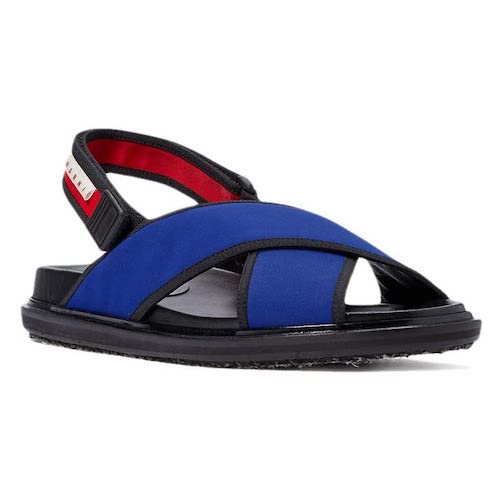 Marni/Sport Style Strap Detail Sandal