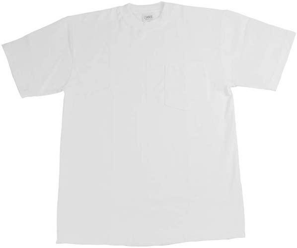 半袖TシャツマックスウェイトポケットTEE