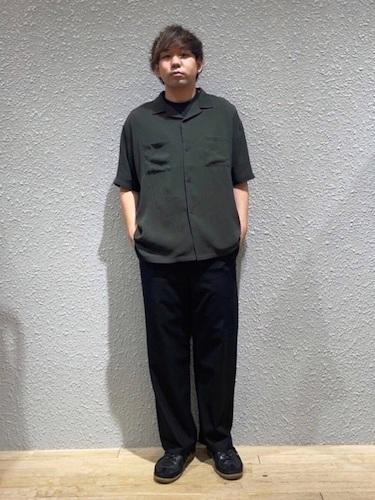 シアーシャツ コーデ