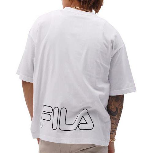 FILA/バックロゴプリントTシャツ