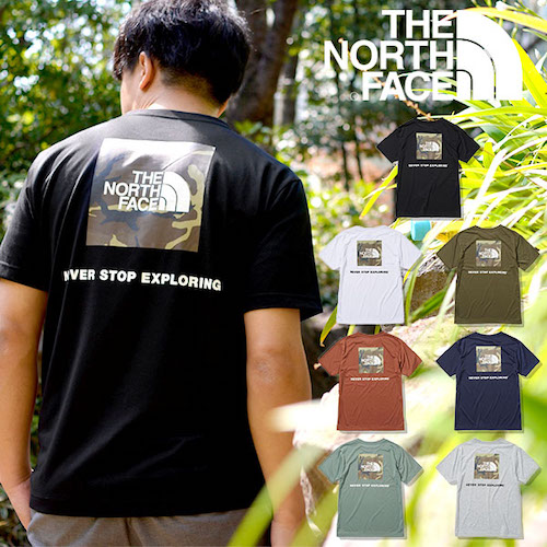 THE NORTH FACE/Square Camofluge tee