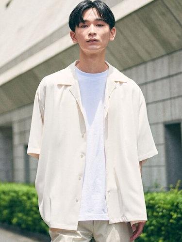 BEAUTY&YOUTH/ユルテロオープンカラー シャツ