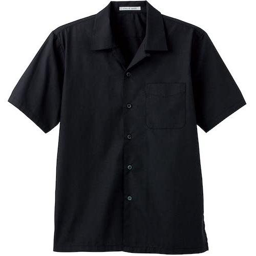 FACEMIX/ブロードオープンカラー半袖シャツ