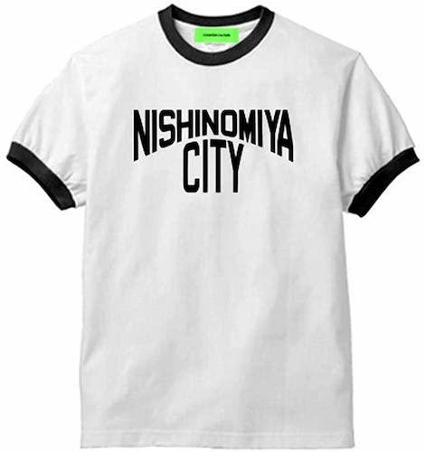NISHINOMIYA CITY/Ringer T-shirt