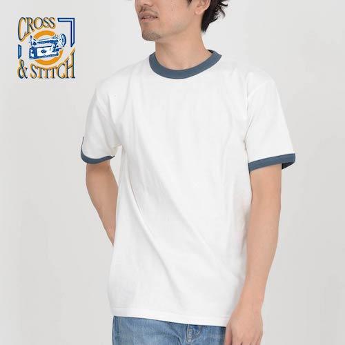 無地Tシャツ専門店 Tshirt.st/リンガーTシャツ