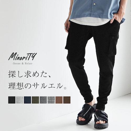 MinoriTY/スウェットジョガーパンツ