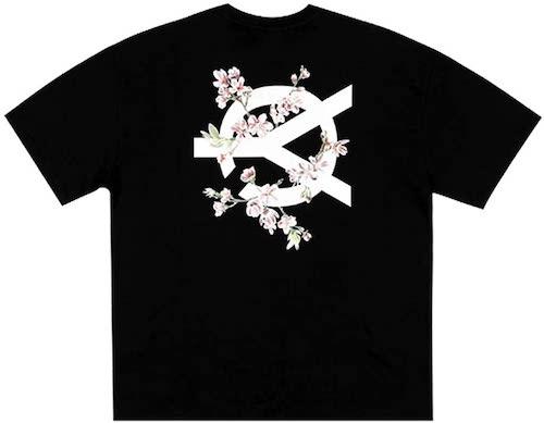 チェリーブロッサムロゴ半袖Tシャツ