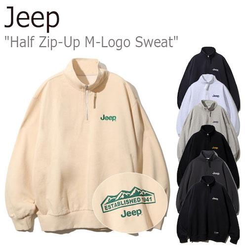 Half Zip-Up Compass Sweat