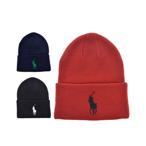 BIG PONY CUFF HAT