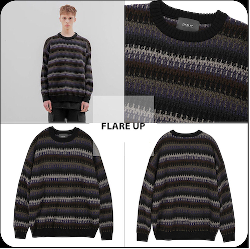 6mix over knit Sweater