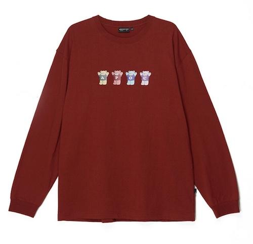 マルチベアロングスリーブ Tシャツ